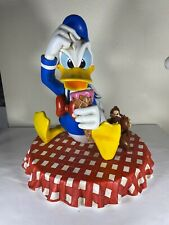 Disney Big Fig Donald Duck with Chip and Dale Ice Cream Picnic With Box Figurine