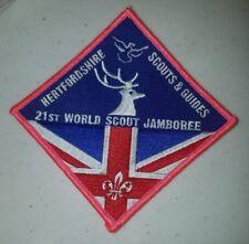 21ST World Scout Jamboree Hertfordshire Scputs & Guides UK 2007 WSJ