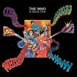 MINT; THE WHO - A QUICK ONE CD. GR8. INCLUDES AN ACOUSTIC VERSION OF'HAPPY JACK'