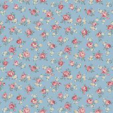 coupon de tissu patchwork shabby Quilgate Mary rose petites roses 45x55cm