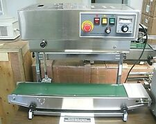 INDUSTRIAL 220 VOLT FR900 DUAL VERTICAL & HORIZONTAL CONTINUOUS BAND BAG SEALER