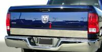 """For 2009-2018 Dodge Ram Stainless Tailgate Trim Cover Plain 3 1/4"""" 1PC"""