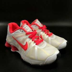 New Nike Shox Roadster Women's Pink White Running Shoes Size 5.5 487603-166 2011