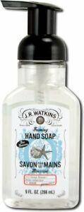Foaming Hand Soap by J.R. Watkins, 9 oz Ocean Breeze