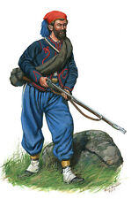 Mark Maritato Civil War Soldier 62nd NY Anderson Zouave LC Signed Art Print
