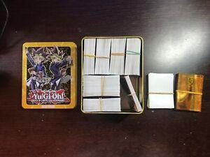 Lotto 645 carte yugioh comuni mostri magie trappole xyz + box del mega tin yugi