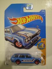 HOT WHEELS 2017 Surf's Up *'71 DATSUN BLUEBIRD 510 WAGON* bright blue