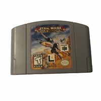 Nintendo 64 N64 Video Game Star Wars Rogue Squadron Cartridge Only