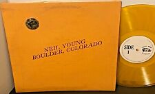 NEIL YOUNG Boulder Colorado 1973 TMOQ Gold Vinyl LP Free Shipping