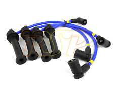 Magnecor 8mm Blue Ignition HT Lead Set Fiesta ST150 2.0i 16v Duratec + Plugs