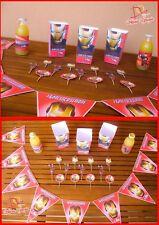 """Kit Compleanno Personalizzato Festa Party """"IRONMAN"""" nome età"""
