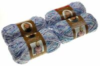 Premier Yarns Deborah Norville Serenity Chunky Puppy Dog Tails Lot 4 Skeins Knit