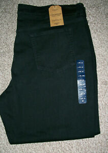 Big Mens LUCKY BRAND Athletic Stretch Fit  Black Jeans NWT 48x32 $109