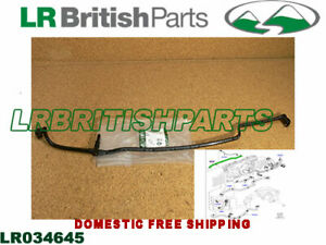 GENUINE LAND ROVER WATER HOSE RANGE ROVER DISCOVERY RANGE ROVER SPORT LR034645