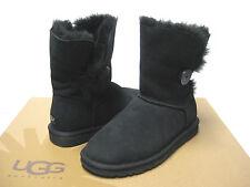 Ugg Bailey Button Black Women Boots US7/UK5.5/EU38/JP24