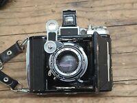 Zeiss Ikon Super Ikonta 531 Compur Shutter Tessar 75mm Lens