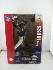 "McFarlane 12"" NFL Figurine - Randy Moss Minnesota Vikings - New in Box"