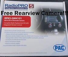 Pac RPK5-GM4101 Radio Dash Replacement Kit w/ Climate Controls 2010-2015 Camaro