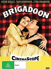BRIGADOON   Gene Kelly  Cyd Charisse  Broadway Musical  ALL REGION DVD