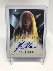 X-Men The Movie Tyler Mane as Sabretooth Autograph Card Topps 2000