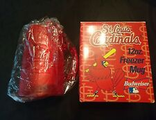 St Louis Cardinals BUDWEISER 12 Oz Freezer Mug - NIB - SGA