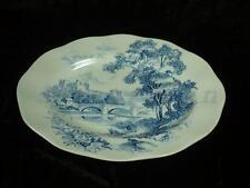 Fleischplatte klein 28,5x... Wedgwood ältere Keramikserien Countryside blue blau