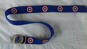 Marvel Avengers Boys Belt Large 75cm Primark Pre Owned