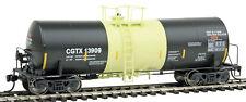 HO - 40' Trinity 14,000-Gallon Molten Sulfur Tank Car - CGTX #13909