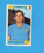 CAMPIONI SPORT 1969-70-PANINI-Figurina n.160- ANQUILLETTI -ITALIA-CALCIO-Rec