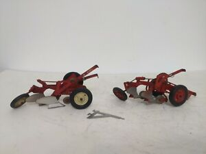 1/16 Eska Farm Toy Vintage IH Mccormick 2 Bottom Plow x2