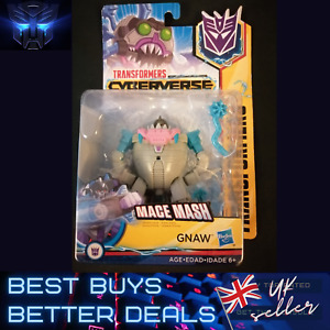 Transformers Cyberverse Mace Mash GNAW UK Stock NEW