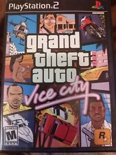 New listing Grand Theft Auto Vice City (Sony PlayStation 2, 2002)
