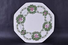 Antique Victorian 1890s Rare Wedgwood Etruria Autumnus Cake Sandwhich Side Plate