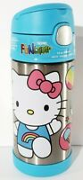 Brand New Hello Kitty Thermos Funtainer Stainless Steel Bottle Keeps Cold 12oz k