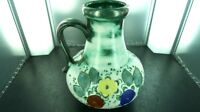 SUPERB / VERY DECORATIVE / VINTAGE W GERMAN VASE / JUG 19-25, 25CMS HIGH, NICE!!
