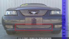 GTG 1999 - 2004 Ford Mustang V6 and GT 1PC Polished Bumper Billet Grille Grill