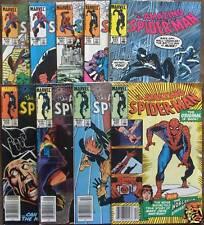 9 MARVEL COMICS 248-259 The AMAZING SPIDER-MAN 1984