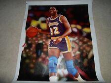 Magic JOHNSON LA Los Angeles Lakers Original Poster Oil Canvas Painting Real