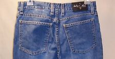 "Baby Phat Distressed Blue Jeans Flare Pants Inseam 31"" Womens Juniors 7"