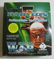 1998 Babylon 5 Ccg - The Great War - Complete ( 397 ) Card Set