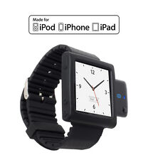 KOKKIA i10Watch MULTISTREAM Bluetooth iPod Transmitter Nano 6G Watch (Black)