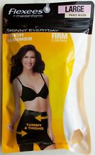 Maidenform Flexees Women's Shaping Thigh Slimmer Large Firm Control Paris Naked