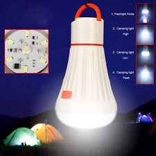 6LED + 3W Portable Camping Tent Light Torch Lantern Flashlight Hanging Lamp NEW