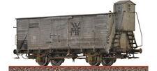 """Brawa 49858 Spur H0 Gedeckter Güterwagen G10 """"WMF"""" der DB, patiniert"""