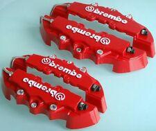 4 CUBREPINZAS TAPAS FRENO CUBRE PINZAS Rojo carcasas brake cover caliper brembo