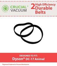 2 Dyson Durable DC17 Animal Belts 8MM Dyson DC17 Vacuums, Part # 911710-01