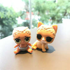 LOL Surprise Pets Doll Animals M.C. Meow MYSTERY CAT+Lil Sister Merbaby Theater