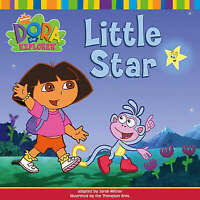 """VERY GOOD"" Little Star (Dora the Explorer), Nickelodeon, Book"