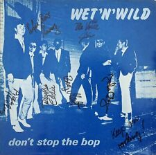 Wet 'N' Wild Don't Stop The Bop LP Musk Project - mp 811 Switzerland 1981 NM/VG+