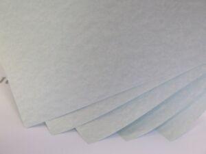 Parchment Paper 90gsm Blue Cardmaking Certificates Choose A5 or A6